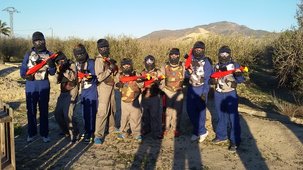 Paintball en comuniones
